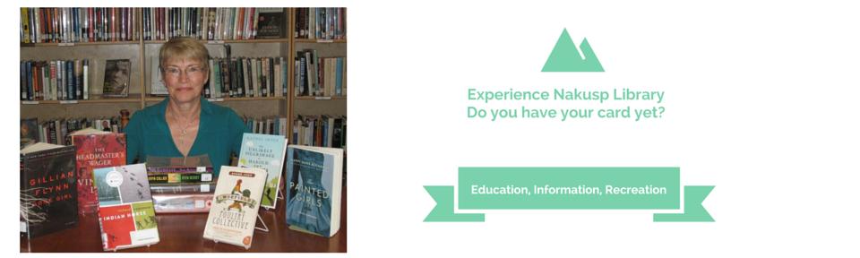 Experience Nakusp Library
