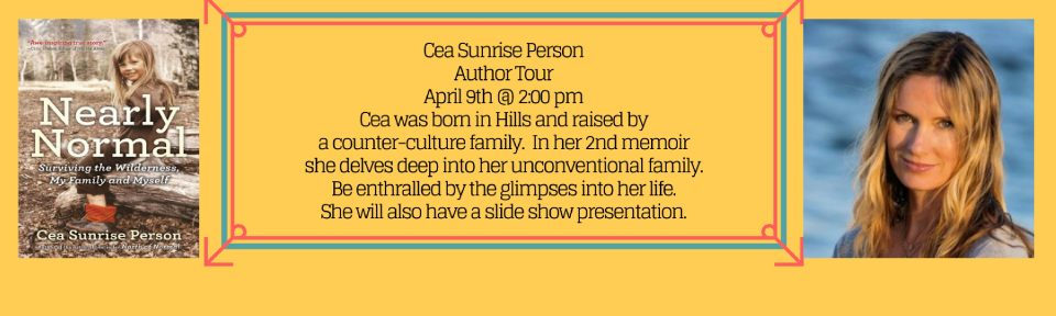 Cea Sunrise Person Author Tour