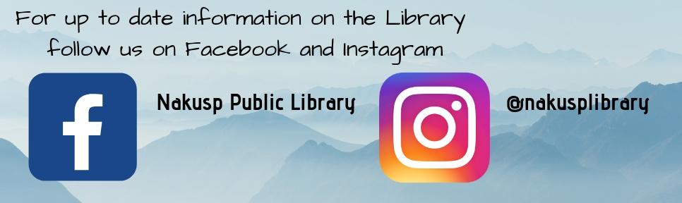 For up to date information on the Library follow us on Facebook and Instagram