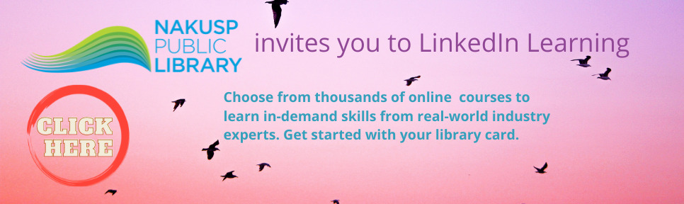 invites you to LinkedIn Learning